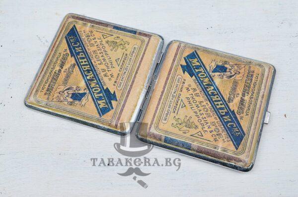 starinna tabakera za cigari podaryk za myj zlateny levy