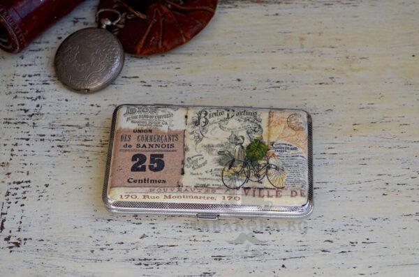 tabakera retro old style podaryk za maj