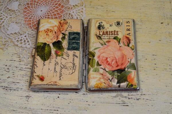 rychno dekorirana tabakera s rozi parij