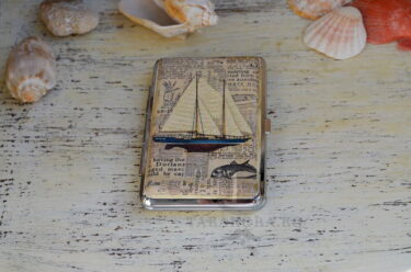 tabakera s platnohodki morski podarak