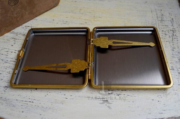 metalna stomanena tabakera za tsigari